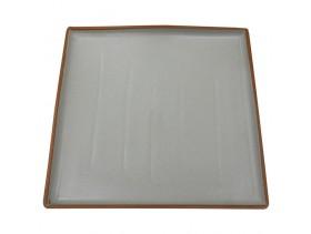 Тарелка квадратная белая E247 М-139/Б