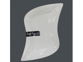 Тарелка прямоугольная 22*14,5см PD1243