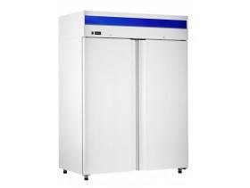 Шкаф холодильный ШХн-1,4 краш. (1485х850х2050) t -18°С, верх.агрегат, ТЭН оттайки, мех.замок, ванна выпаривания конденсата Об-16/14