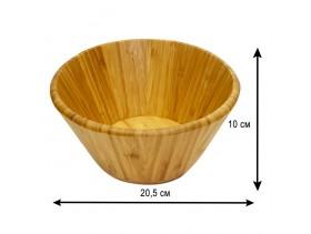 Салатник деревянный диаметр 20 см Д-83
