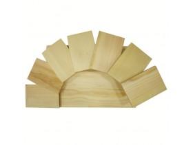 Доска для подачи из дерева: Этажерка для суши 50*25*16cm YC6-36-2 Д-90